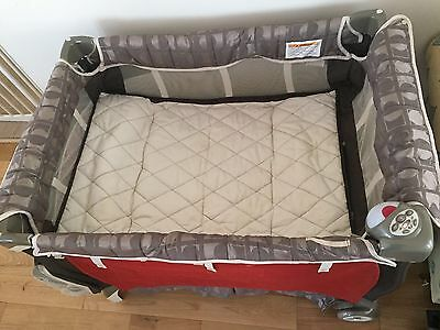 Chicco Lullaby LX Portacot /  Portable Playard - Bonus Toys, Mats And More