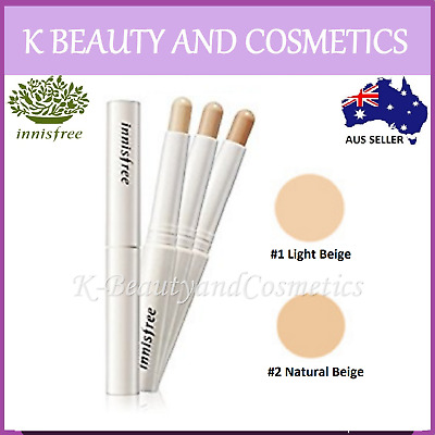 [Innisfree] Mineral Stick Concealer 2g #1 Light Beige #2 Natural Beige