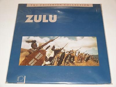 LaserDisc ~ Zulu ~ Stanley Baker ~ The Criterion Collection ~ NTSC ~ Double Disc
