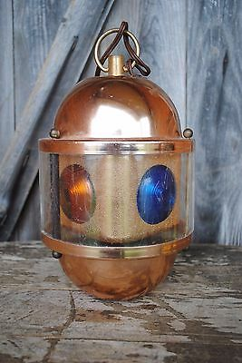 Vintage Swiss Harmony Golden Beacon Light Model 160