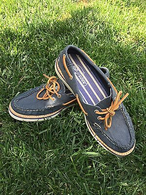 Women's Sperry Boat Shoes Blue Size Size 7.5