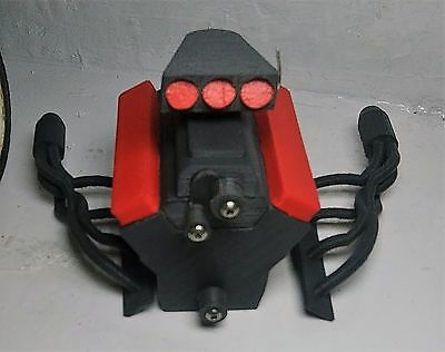 v2 1/10 scale v8 engine motor cover for rc crawler like axial scx10 rc4wd