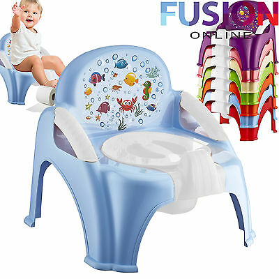 Kids Potty Seat Toddler Baby Child Plastic Potty Toilet Trainer Training Seat S1