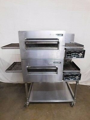Lincoln Impinger 1100 Series Pizza Conveyor Ovens w/Stand