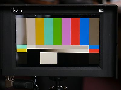 """Ikan D5w 5.6"""" 3G HD-SDI LCD On-Camera Waveform Field Monitor with High Def Panel"""