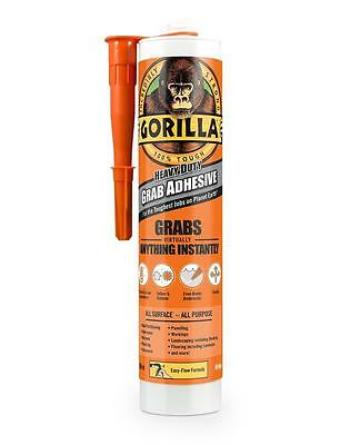 Gorilla Grab Adhesive Glue Heavy Duty 290ml Cartridge