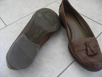 M&s Ladies Leather Shoes Size 6.5