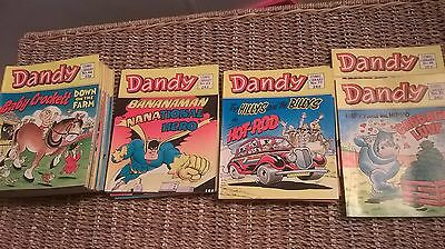 29 Issues Of The Dandy - Comic Library - Boxed Since First Read Great Condition