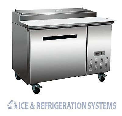 "Sun Ice Commercial 48"" Pizza Prep Refrigerator Cooler Table SUNPT-44"