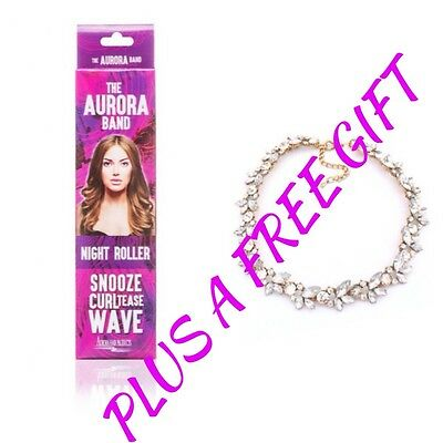 The Aurora Band Sleep In Night Roller,No Heat Roller Plus A Free Gift