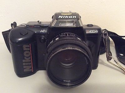 Nikon N4004 SLR Camera with Nikkor 50mm lense and Bag