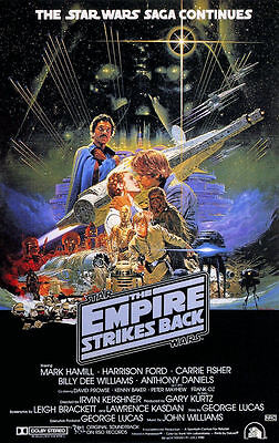 "Star Wars - Empire Strikes Back ( 11"" x 17"" ) Collector's Poster Print-B2G1F"
