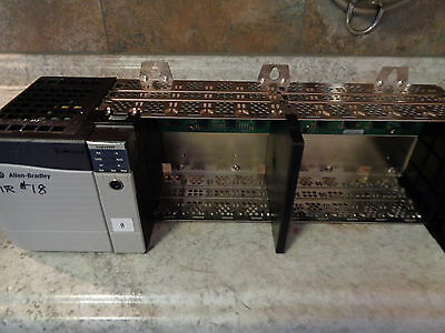 Allen Bradley 1756-Pa75/a Chassis W/ Processor Unit And Memory Expansion  Used