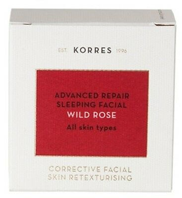 KORRES ADVANCED REPAIR SLEEPING FACIAL WILD ROSE 40 ml
