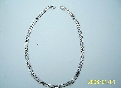 """Men's Sterling Silver Heavy 23"""" Large Chain Necklace Italy 54 grams"""