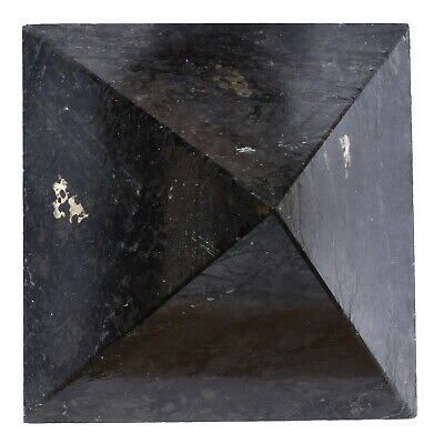"[1] RARE! Charged 2"" (50mm) Nuummite Pyramid Crystal Healing Energy REIKI ~110g"