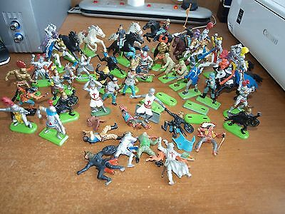 Small Bundle / Joblot Of Britains And Timpo Toy Soldiers, Spares Or Repair.