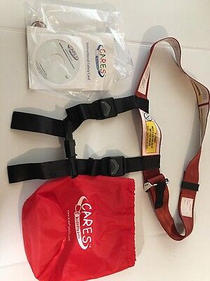 Cares kids fly safe harness. Great Condition!!!  Look.