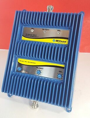 Wilson Cell Phone Signal Booster Tri-Band 4G-V 700 Band 13/800/ 1900MHz 805165