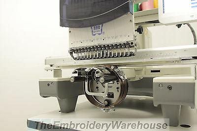 Commercial Embroidery Machine Single Head ButterFly B1501/T Cap Cruncher Package