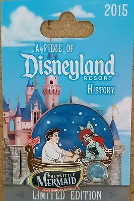 Disneyland Pin Ariel Little Mermaid Piece Of History Le Pin Under Sea Adventure