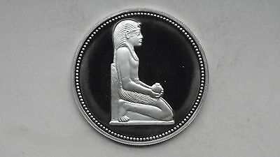 1994 Egypt 5 Pounds King Thutmose III Silver Proof coin
