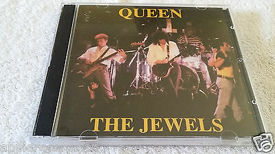 "QUEEN LIVE CD#14 NM rare double CD  ORIGINAL silver factory pressed ""THE JEWELS"""