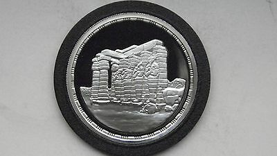 1994 Egypt 5 Pounds Ancient Ruins Silver Proof coin