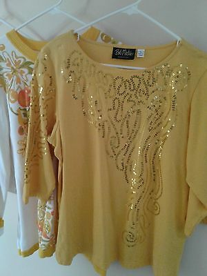 Bob Mackie Womens Size Large Clothing Set Lot of 4