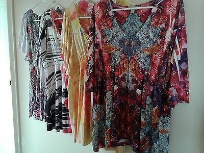 One World Womens Tops Size Extra Large Lot of 4