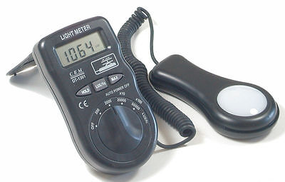 CEM DT-1301 Digital LCD Light Meter 50000 Lux foot-candle fc Tester Luxmeter NEW