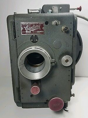 Century Movie Projector Vintage 35mm Film Model SAW Untested Vintage for Parts