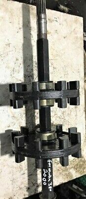 front drive axle & sprockets 2003 Bombardier SKIDOO  GRAND TOURING 380 / 550 Fan