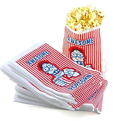 100 Premium Grade 2 Ounce Movie Theater Popcorn Bags