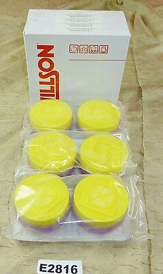 New Package of 6 Willson T05P100 Respirator Cartridges Organic Vapors Acid Gas