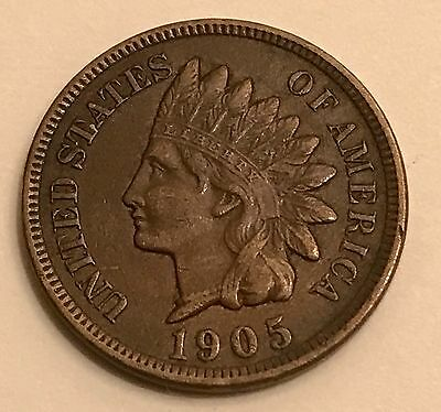 1905 Indian Head Cent Beautiful High Grade Coin Must-See!