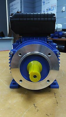 B14 FLANGE 2.2kw/3HP 2800rpm motor single-phase 240v REVERSIBLE CSCR shaft 24mm
