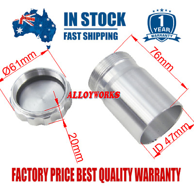"Great Aluminum Alloy Weld On Filler Neck+Cap 1 1/2"" I.D 38mm Dry Sump, Fuel tank"