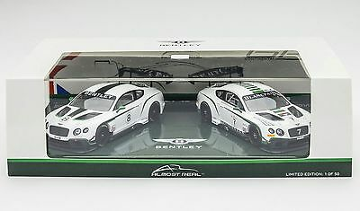 almost real Bentley Continental GT3 Nurburgring 2015 Drivers selection test 1:43