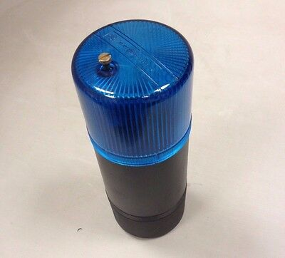 Telemecanique Xva-Lc6C024 Blue Beacon Flashing Light 24V Ip42 - New Old Stock