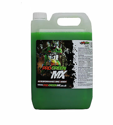 20 Litre Pro Green MX Bike Wash Cleaner MTB Motocross Enduro Trail Off Road MX