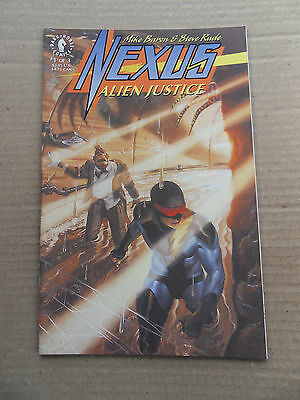 Nexus :  Alien Justice 1 of 3 .M.Baron / S.Rude - Dark Horse 1992 -VF
