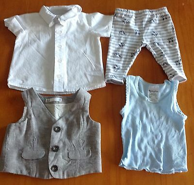 Lot of Boys Baby Clothes Size 000