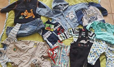 Bulk boys 00 3 to 6 months bulk winter clothes overalls outfit jumper jeans boy