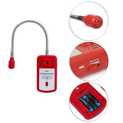 Portable Combustible Gas Detector Gas Leak Tester with Sound Light Alarm Sniffer