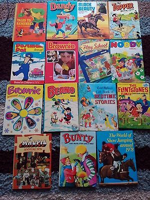 Collection of Annuals - some in very good condition