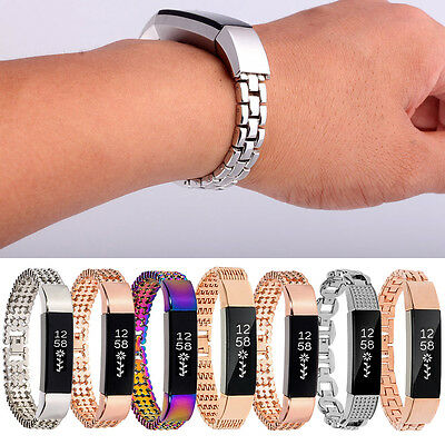 For Fitbit Alta/HR!Hot Luxury Large/Small Wristband Strap Bangle Bracelet w/Tool