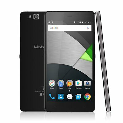 TALA Mobiwire Schwarz 4G 5.5 Zoll Android 3+32GB ROM MTK6755 Smartphone #