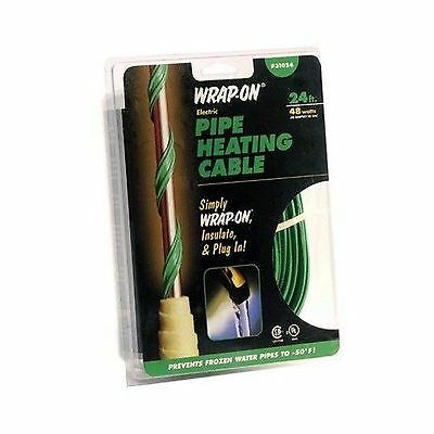 Wrap-On 31080 80' Pipe Heating Cable 160 Watts 1.33 AMPS 80' (Feet)