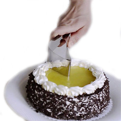 Stainless Steel Cake Clip Cut the Cake Tool Cake Knife Tool Cutter Blade Bread